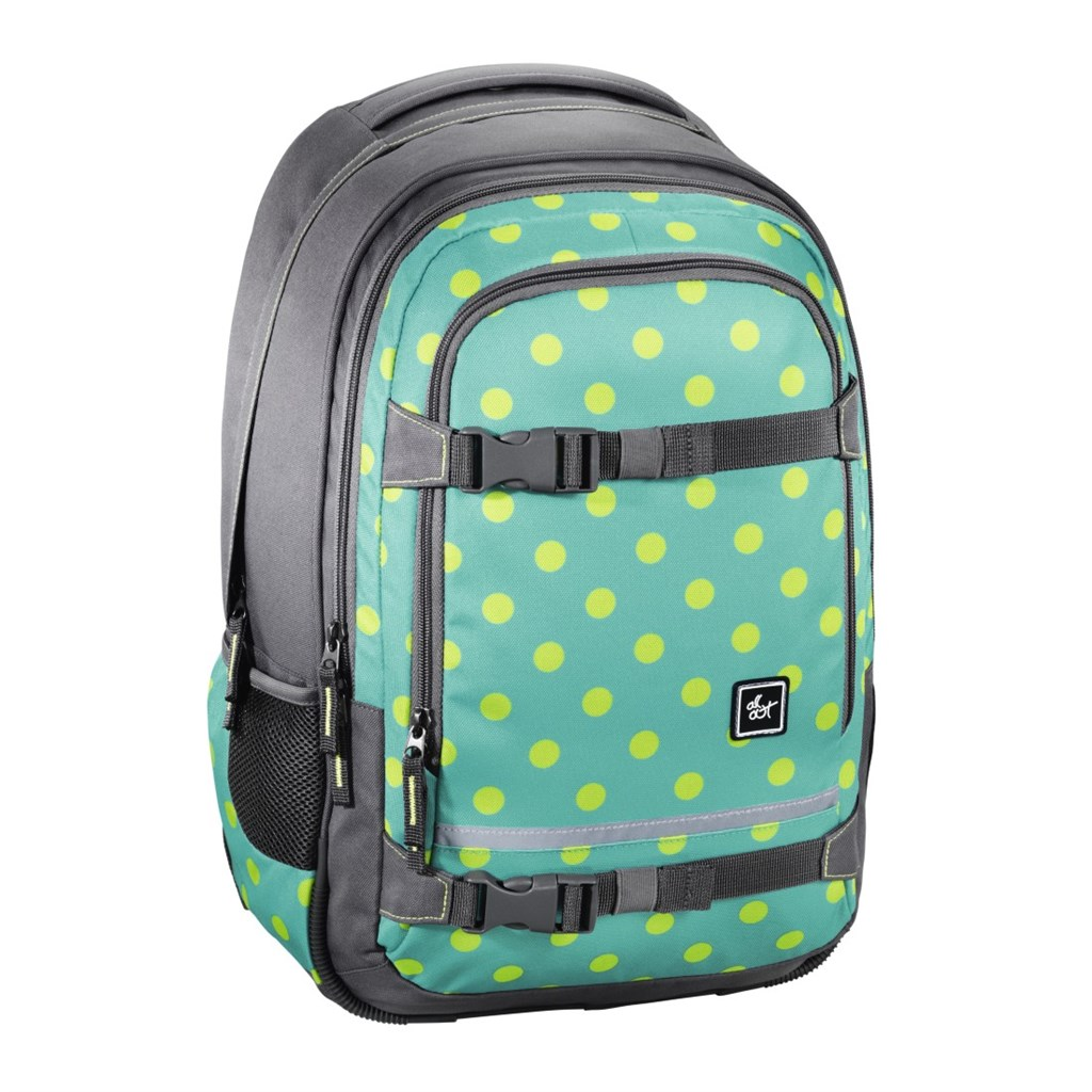 "Školský ruksak All Out ""Selby"" Backpack, Mint Dots"
