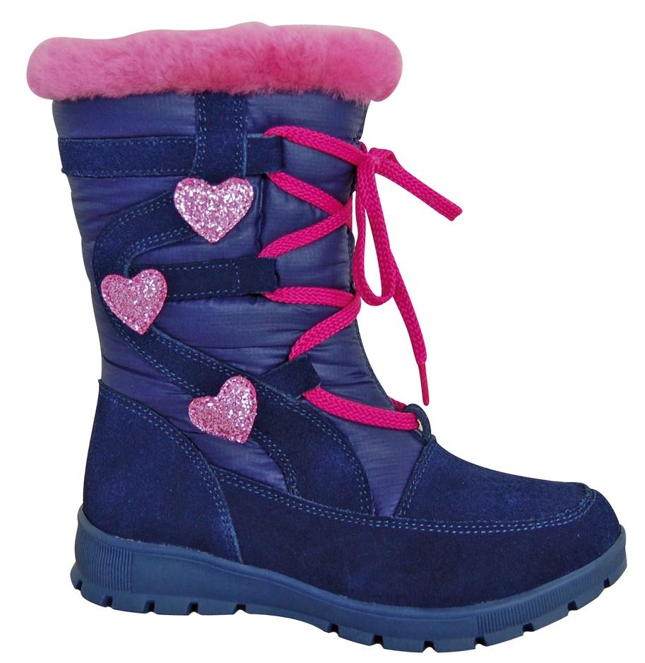 a5e4abc38600 Zimná obuv RETA navy