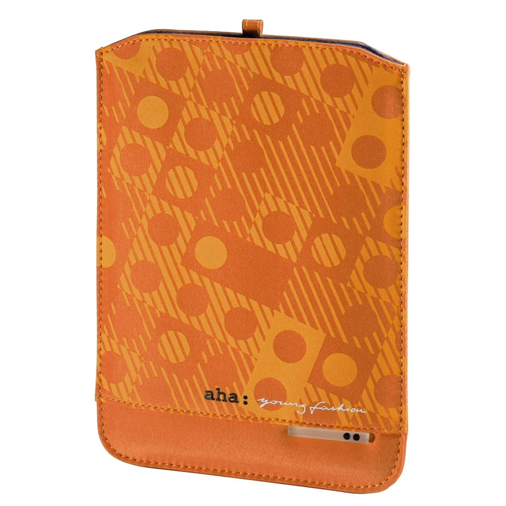 Lenni Sleeve for Tablet PCs, display sizes up to 17.8 cm (7), orange