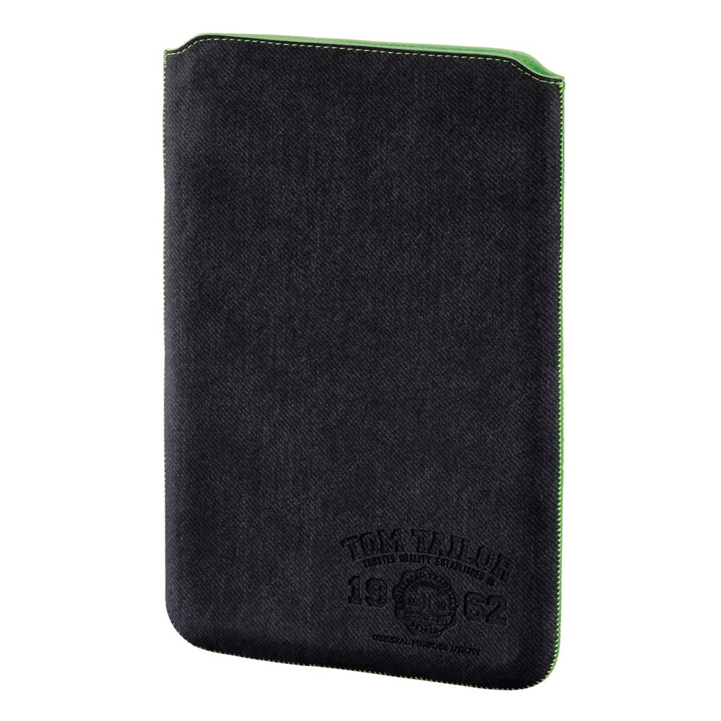 "TOM TAILOR Canvas Pouch, puzdro na tablet do 25,6 cm (10,1""), tmavý denim"