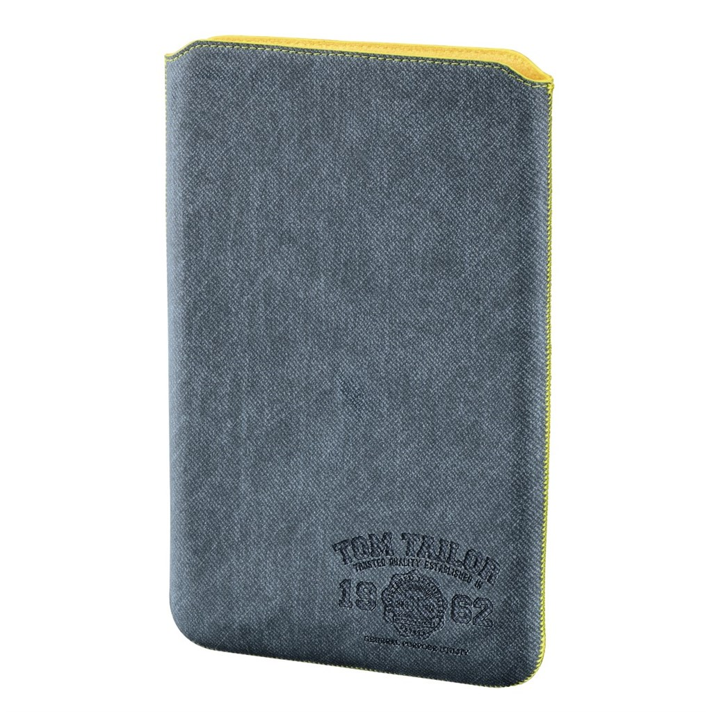 "TOM TAILOR Canvas Pouch, puzdro na tablet do 25,6 cm (10,1""), svetlý denim"