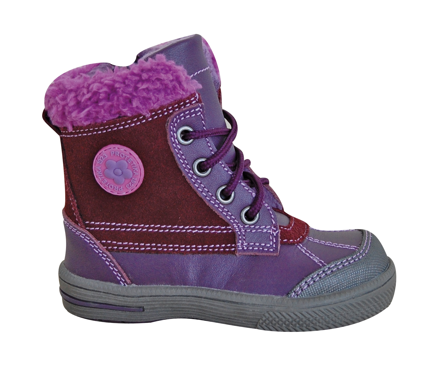 fbfd807b6282 Zimná obuv KERN purple empty
