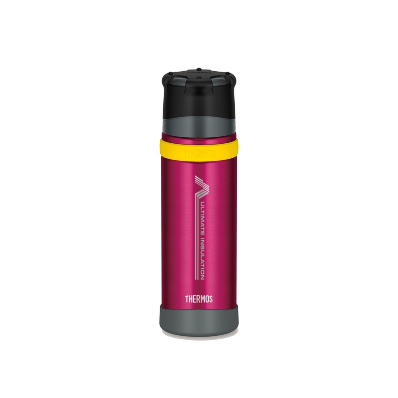 Thermos Mountain - termoska so šálkou do extrém. podmienok - burgundy 500 ml
