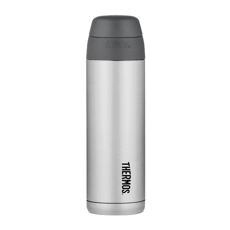 Thermos Style - termoska so slamkou 530 ml - čierna