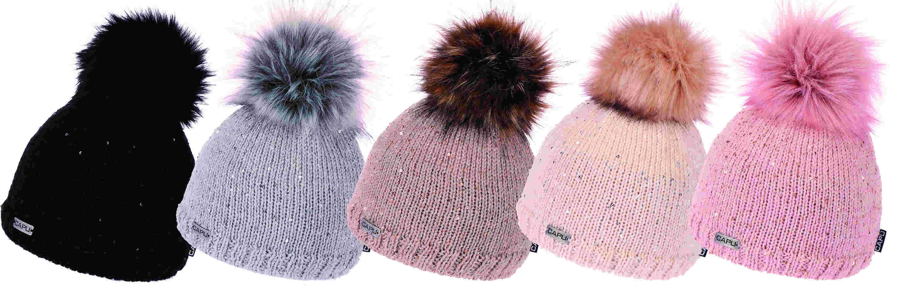 3dd626d90 Dámska móda | Zimná čiapka s brmbolcom CAPU 388 béžová | Mayoral ...