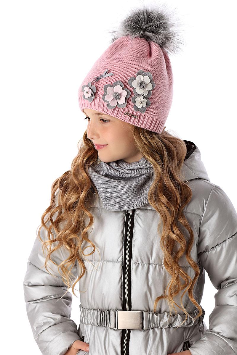 7a1a11682 Detská móda | Detská pletená čiapka 95 ružová | Mayoral - oblečenie ...