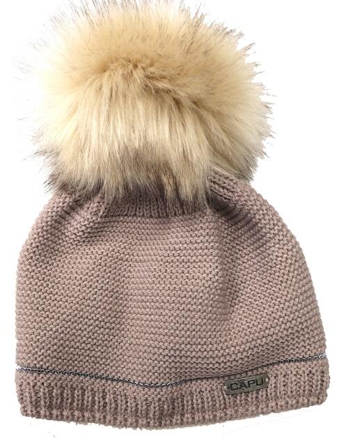 4b2a2a3ea Detská móda | Zimná čiapka s brmbolcom CAPU 667 hnedá | Mayoral ...