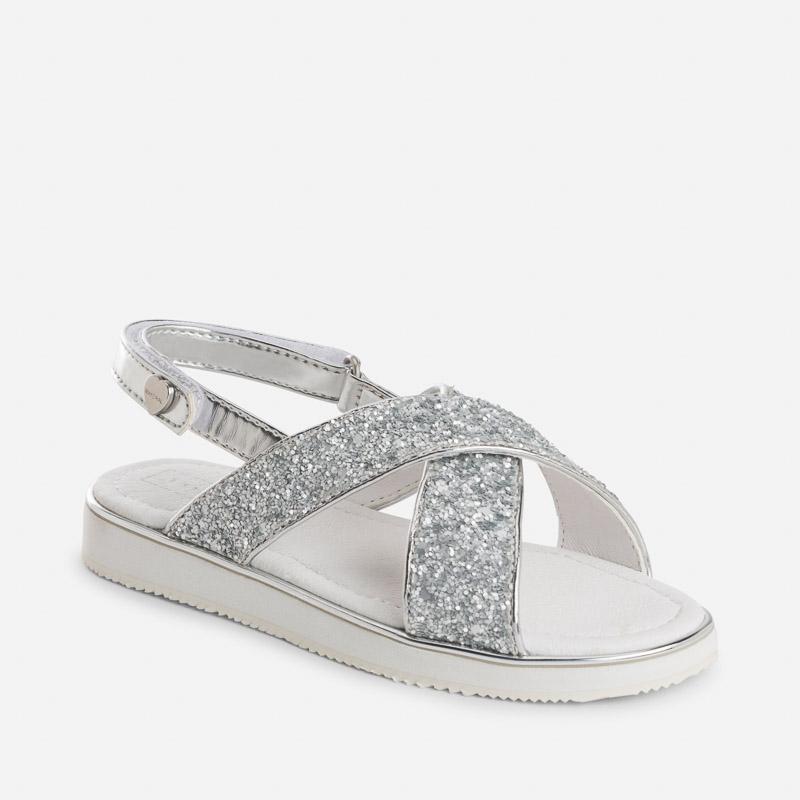 Sandále s trblietkami Mayoral - 2743787072 empty 8fa110e0999