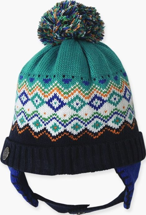 Boboli 17234144-1111 Knitwear hat unisex in various colours, it is lined in pola