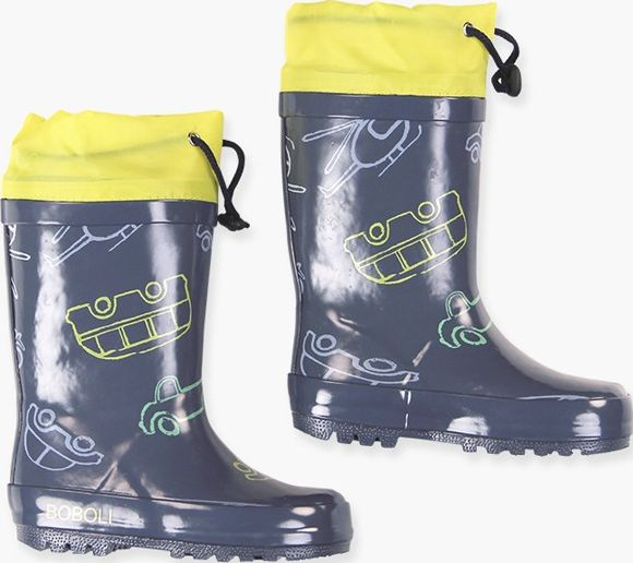 Boboli 17304131-9589 Rain boots for boy with print of cars in various colours, t