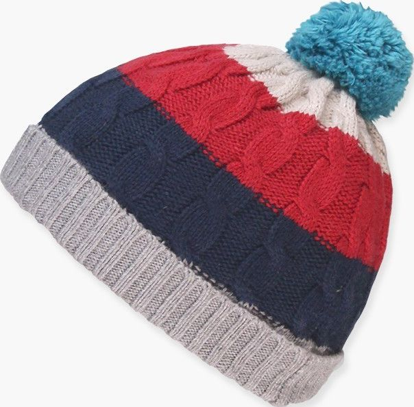 Boboli 17324111-8034 Knitwear hat unisex in various colours, the decoration is a