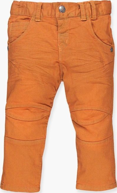Boboli 17334088-5058 Denim trousers for boy in colour mango, the waist is adjust