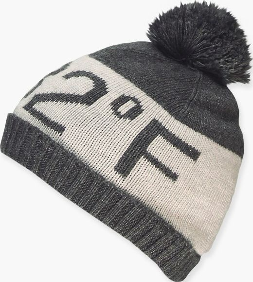 Boboli 17344113-8070 Knitwear hat for boy in colour dark grey vigore and light g