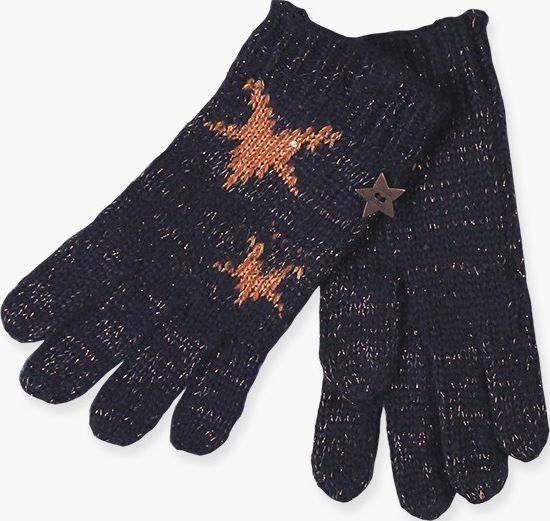 0d23c9d6e94 Pletené rukavice s hviezdami Boboli 724205-2440