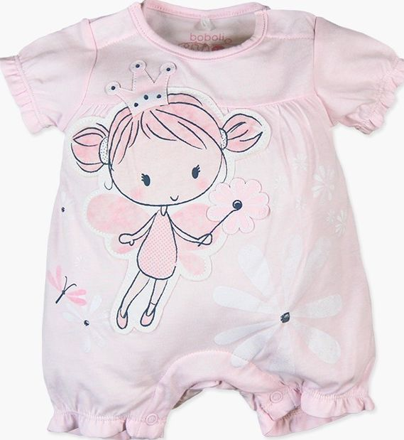 Boboli 27113072-3000 Knit play suit for baby girl