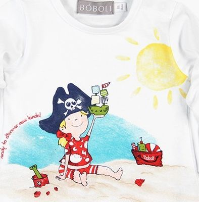 Boboli 27133175-1100 Knit t-Shirt for baby girl