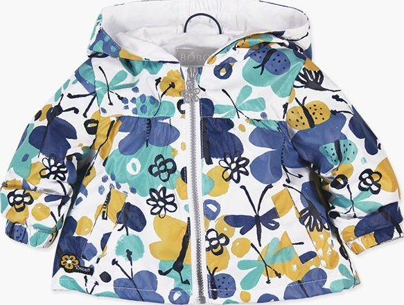 Boboli 27213118-9466 Reversible technical fabric parka for baby girl