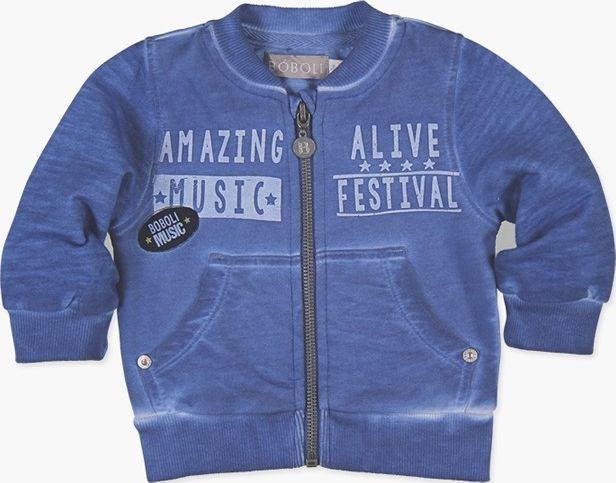 Boboli 27313096-2368 Fleece jacket for baby boy
