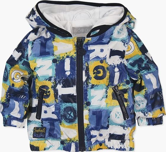 Boboli 27313119-9479 Reversible technical fabric parka for baby boy