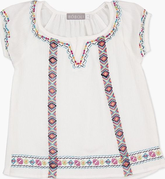 Boboli 27463148-1111 Viscose loose-Blouse for girl