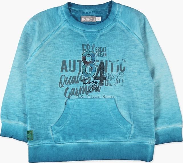 Boboli 27523156-2364 Fleece with pockets sweatshirt for boy