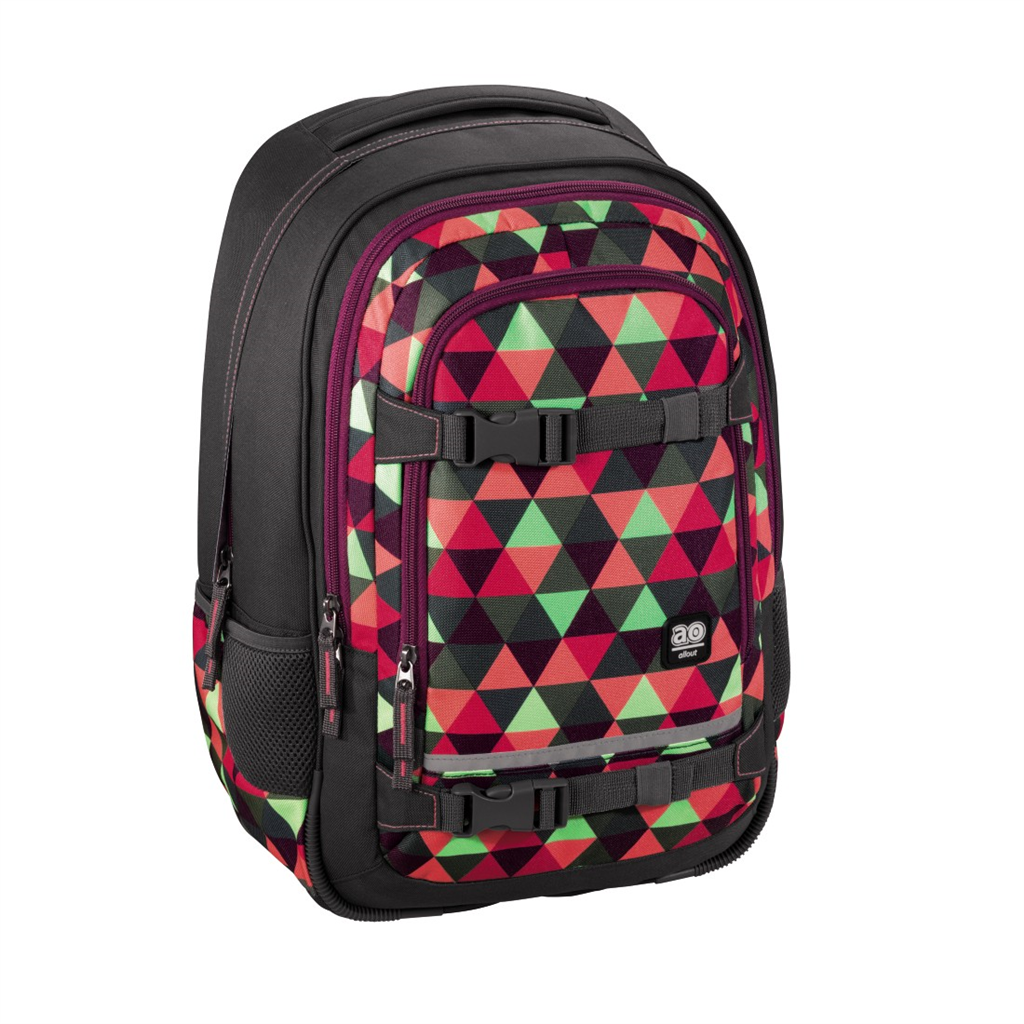"Školský ruksak All Out ""Selby"" Backpack, Happy Triangle"