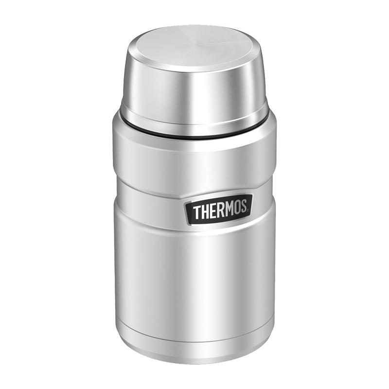 Thermos Style - termoska na jedlo so skladacou lyžicou a šálkou 710 ml -  nerezov 11533e2ce0d