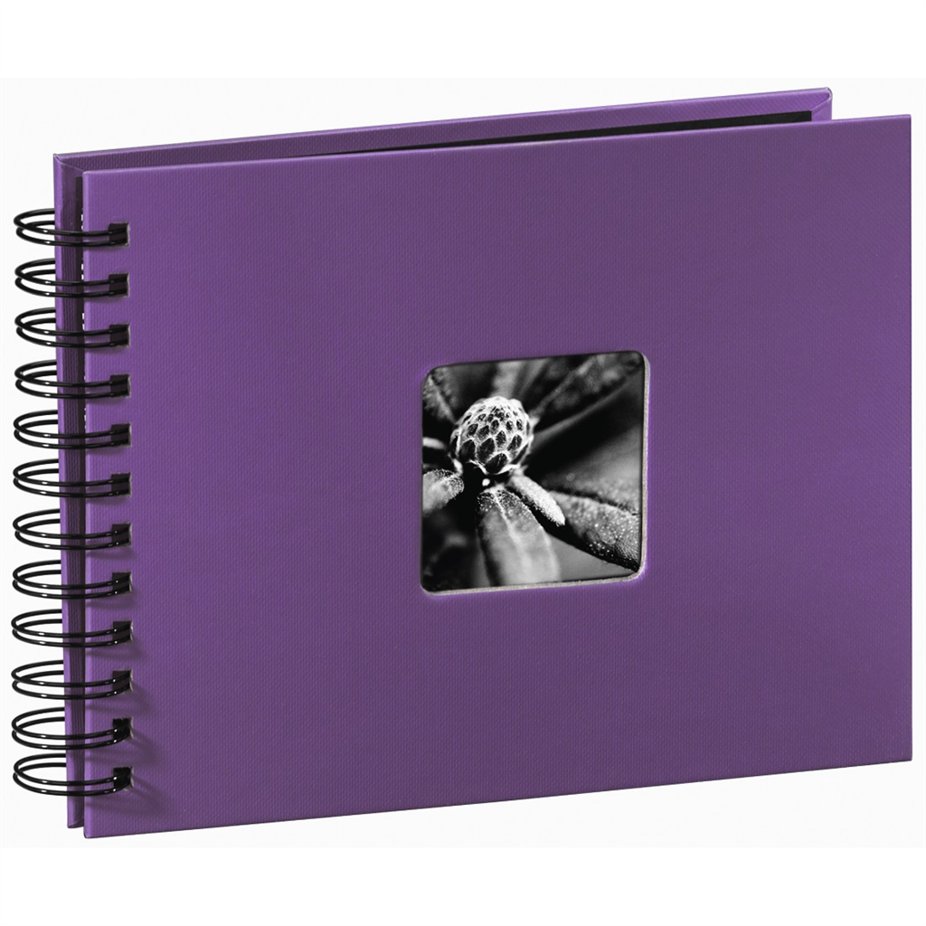 Fine Art Spiral Album, purple, 22x17 50