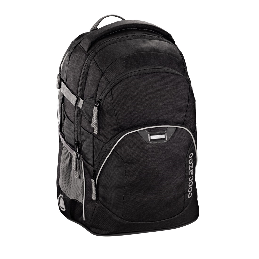 "Coocazoo ""JobJobber"" Backpack, Beautiful Black"