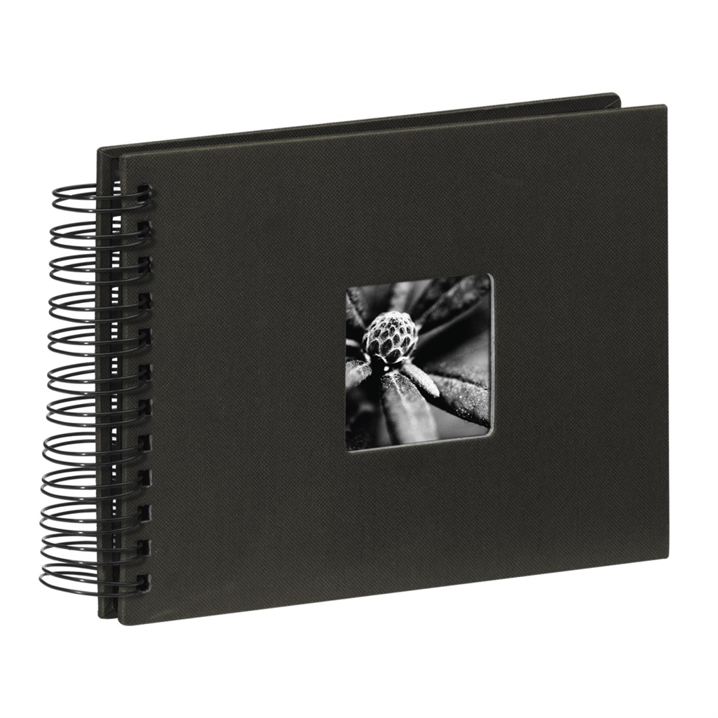 Spiral Album Fine Art, black, 17x22 50