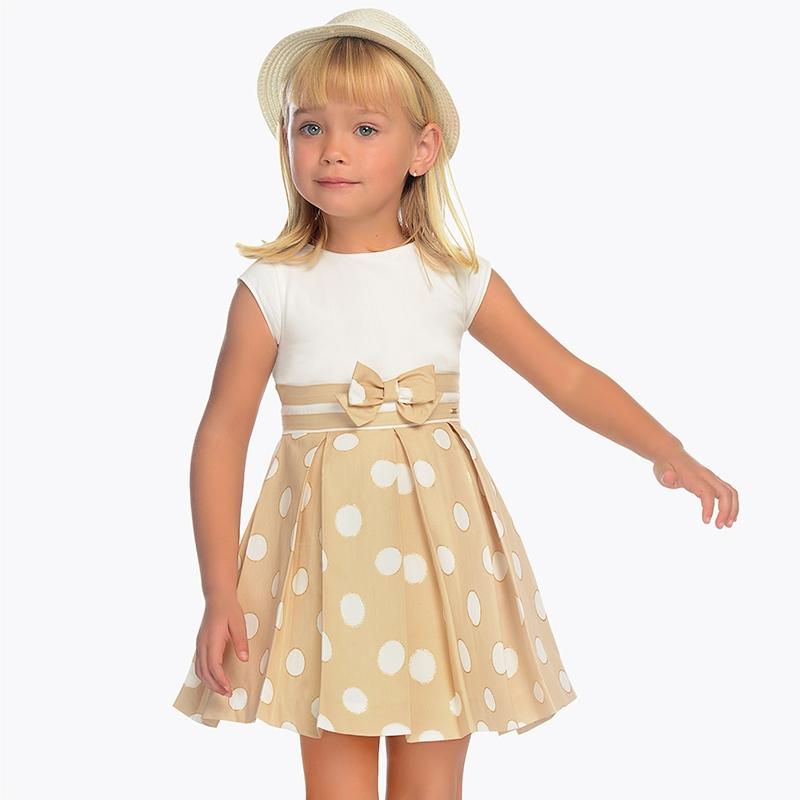 bfcb74b965e7 Kombinované bodkované šaty Mayoral - 03938084 empty