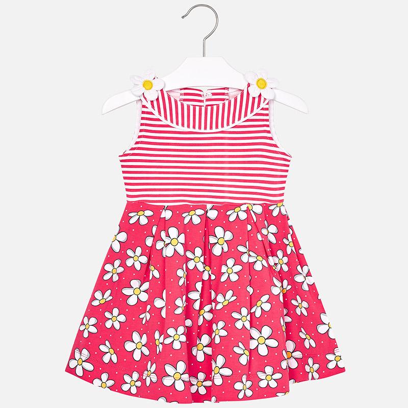 c27f80f8c697 Pruhované šaty s kvietkami Mayoral - 03950045