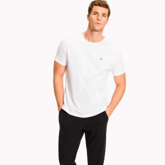 3b9464220b Pánske tričko Tommy Hilfiger biele empty