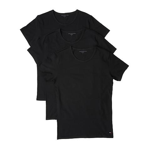 9427240e8e Set - 3 ks pánske tričko Tommy Hilfiger čierne
