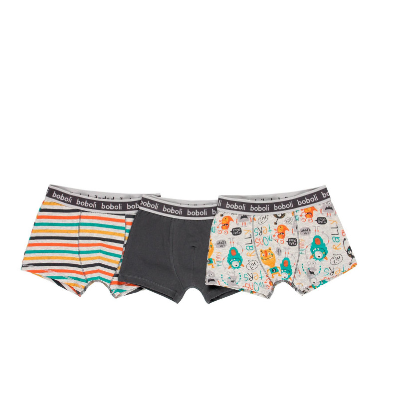 Boboli - 19938101-9106 Set - 3 ks boxerky